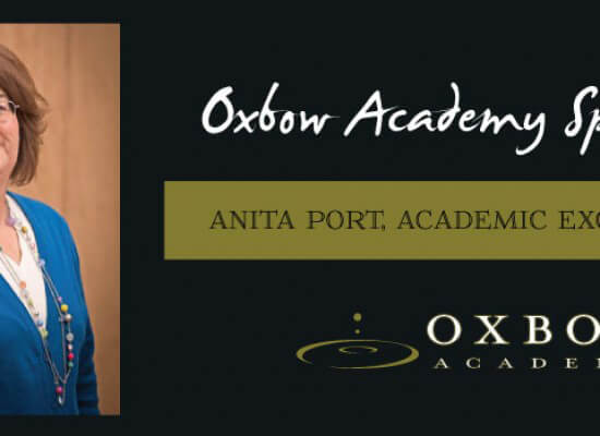 Oxbow Academy Honors Anita Port – Academic Excellence