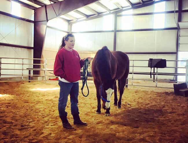 Britta Oxbow Equine Therapy