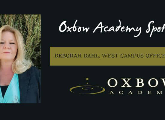 Oxbow Honors Deborah Dahl for Staff Excellence