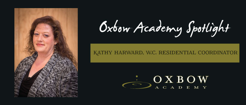 Oxbow Academy spotlight Kathy Harward