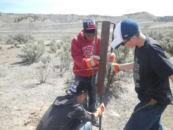 Oxbow fence repairs