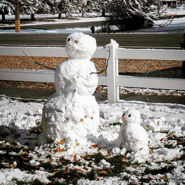 Oxbow Academy Snowman
